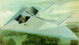 F 117 Stealth Fighter Drawing Mystery stealth concep...